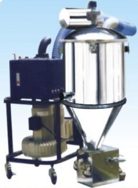 Apply vacuum suction method to deliver various powders and granules to vibrating sieving machines, mixers and jumbo bags etc....